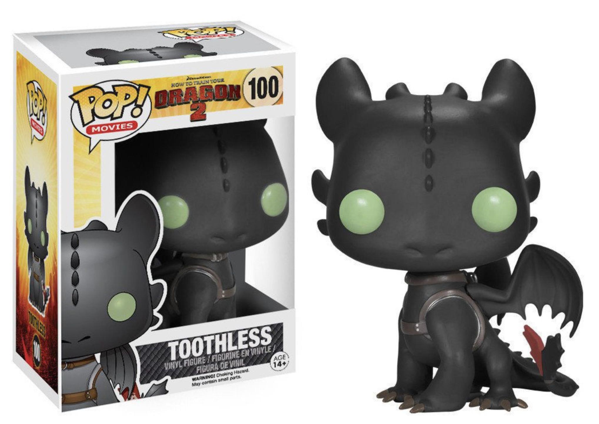 Dragon 2 - Bobble Head Funko Pop N° 100 : Toothless