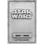 STAR WARS - HOTH PLANET SCENE - LINGOT EN MÉTAL COLLECTOR a