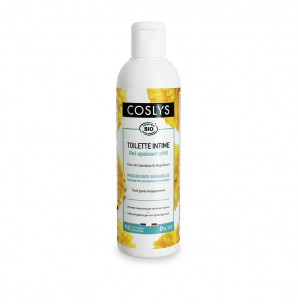 COSLYS Gel toilette intime pH8 muqueuses sensibles BIO - flacon 250 ml
