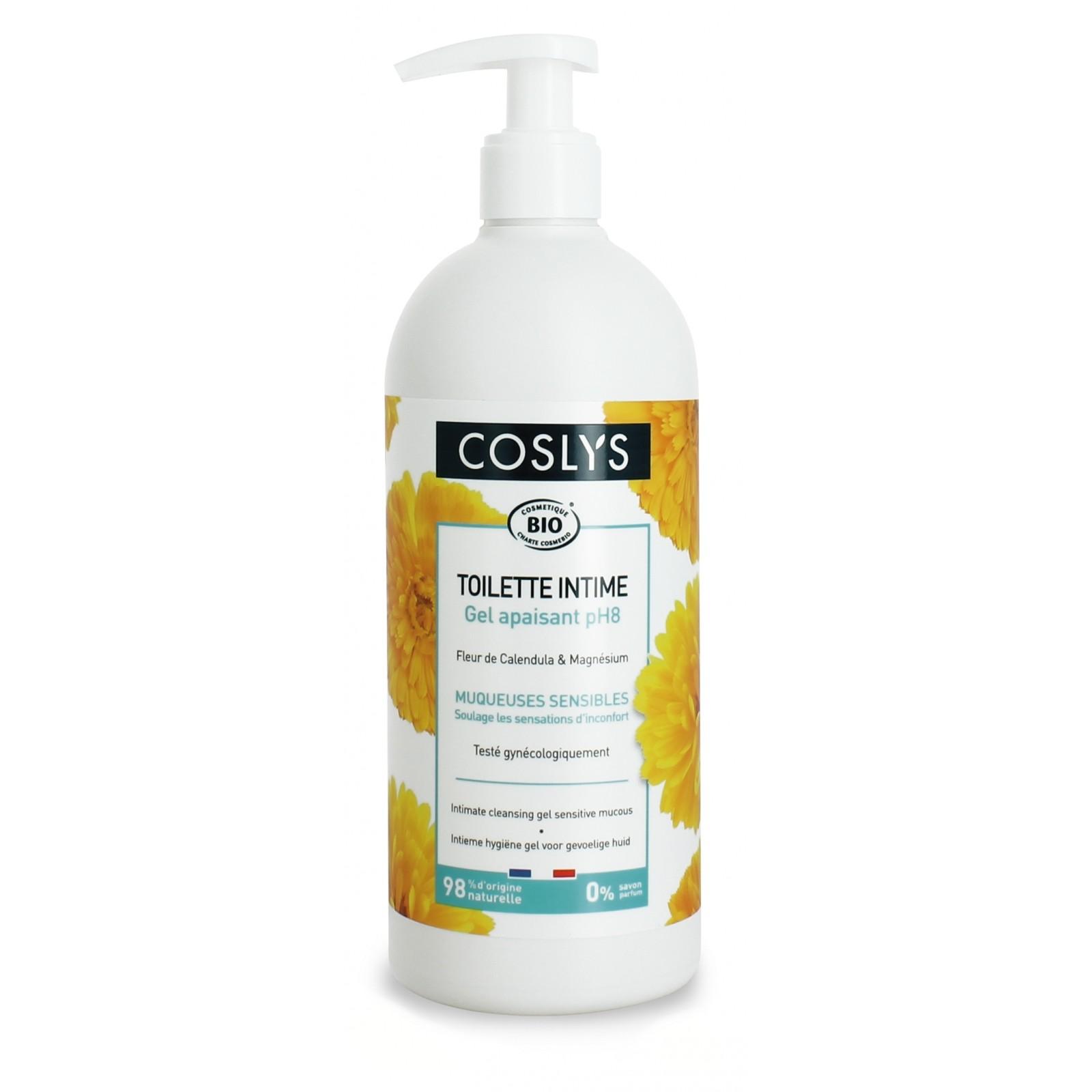 COSLYS Toilette intime gel hypoallergénique BIO - 450 ml