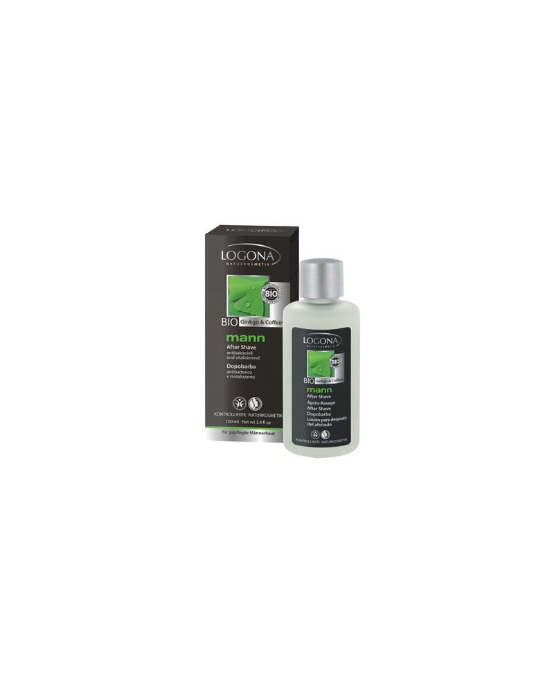 LOGONA Homme Mann lotion après-rasage - 100 ml