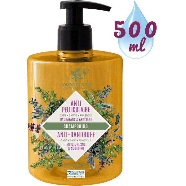 Cosmo naturel Shampoing Anti-pelliculaire Bio 500 ml