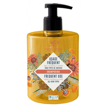 Cosmo naturel shampoing Usage Fréquent Bio 500 ml