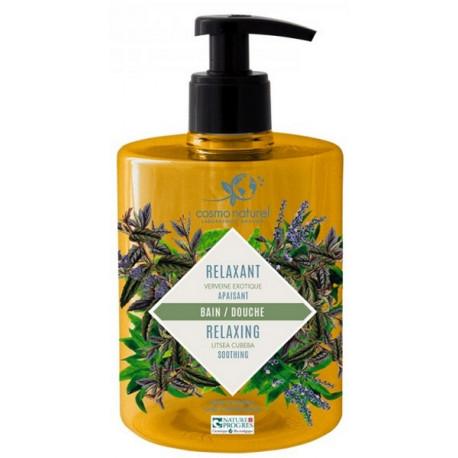 Cosmo naturel Gel moussant Relaxant : Verveine exotique Bio - 500 ml