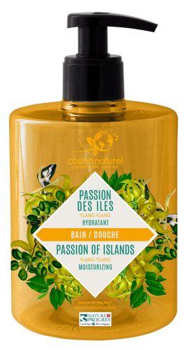 Cosmo naturel Gel moussant Passion des îles : Ylang-Ylang Bio - 500 ml