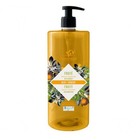 Cosmo naturel Bain & douche Fruité : Mandarine/Orange Bio - 1 litre