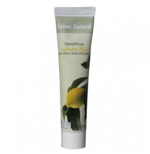 Cosmo naturel Dentifrice Blanchissant : Citron Bio - 75 ml