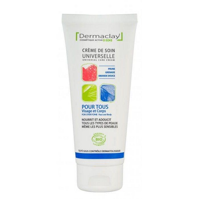 Dermaclay Crème de soin Universelle pour tous Bio 100 ml