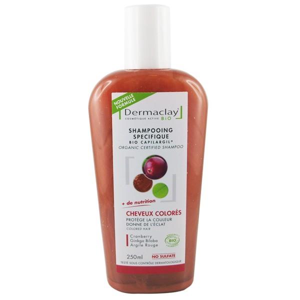DERMACLAY Bio Capilargil: Traitant Cheveux Colorés Bio - 250 ml
