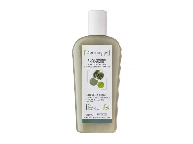 DERMACLAY Bio Capilargil: Traitant Cheveux Gras Bio -  250 ml