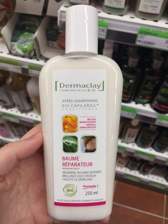 DERMACLAY Bio Capilargil: Traitant Baume Réparateur Bio - 250 ml