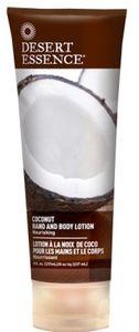 Desert Essence Lotion noix de coco mains et corps - tube 237 ml