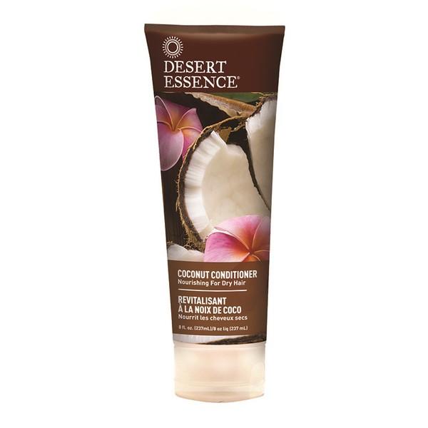 Desert Essence Après-shampoing revitalisant à la noix de coco - tube 237 ml
