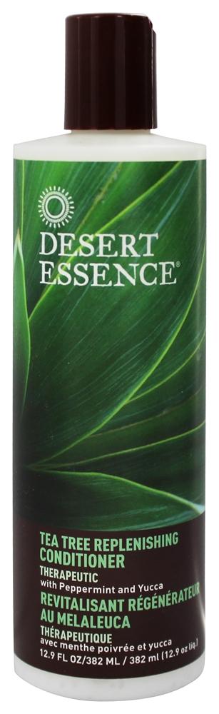 Desert Essence Après-shampoing (revitalisant) régénérateur au Melaleuca (Arbre à Thé) - flacon 382 ml
