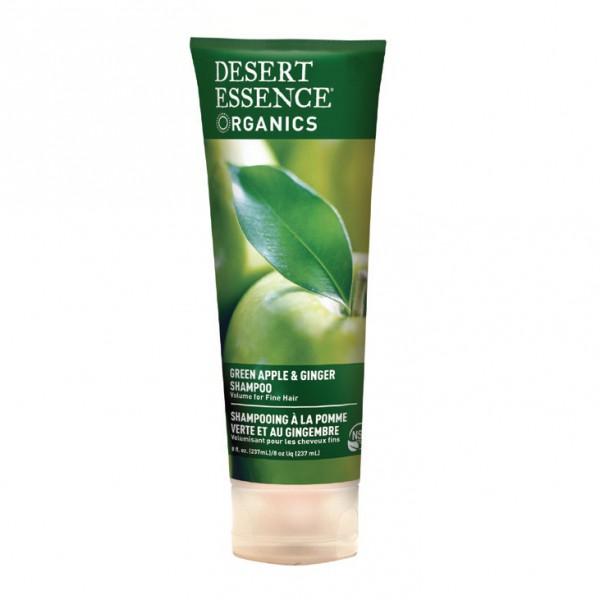 Desert Essence Shampoing à la Pomme Verte et au Gingembre - tube 237 ml