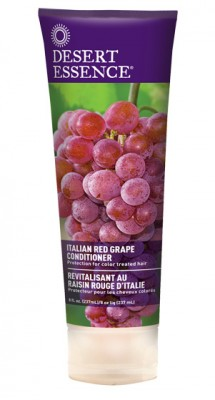 Desert Essence Après-shampoing au Raisin Rouge d\'Italie - tube 237 ml