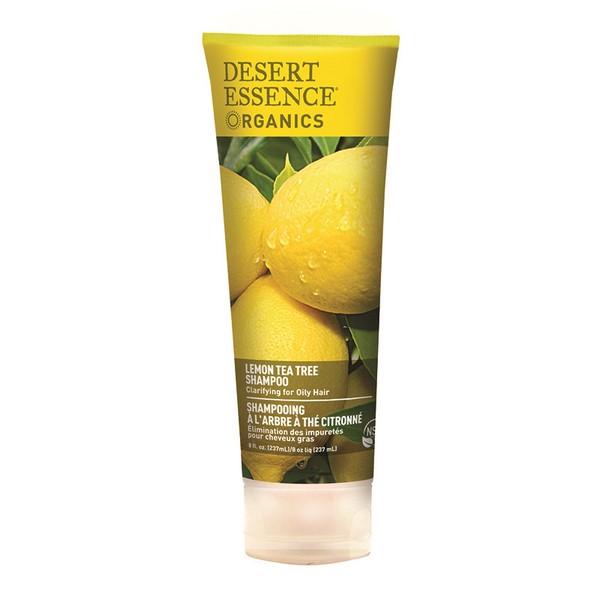 Desert Essence Shampoing au Citron - tube 237 ml