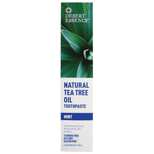 Desert Essence Dentifrice Arbre à Thé goût Menthe - tube 176 g