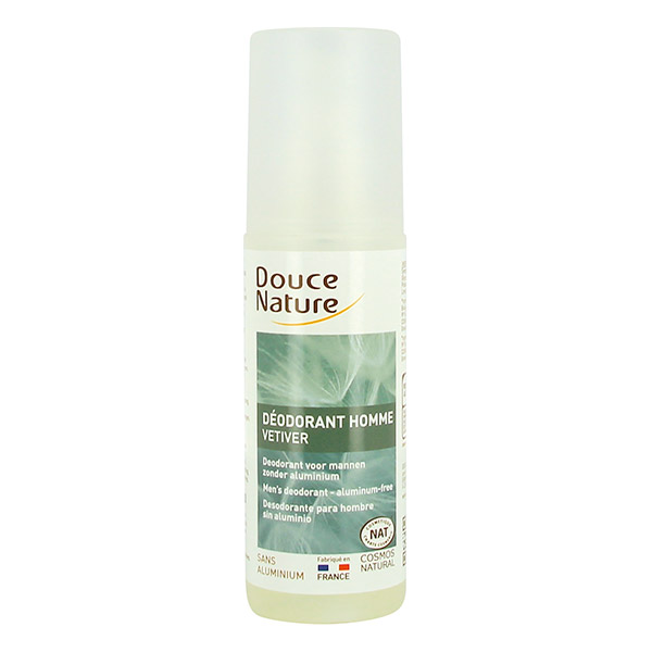 Douce Nature Déodorant Homme Bio - spray 125 ml