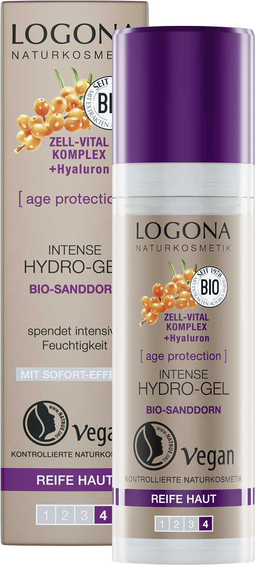 LOGONA Age protection, Gel hydratation intense BIO - 30 ml