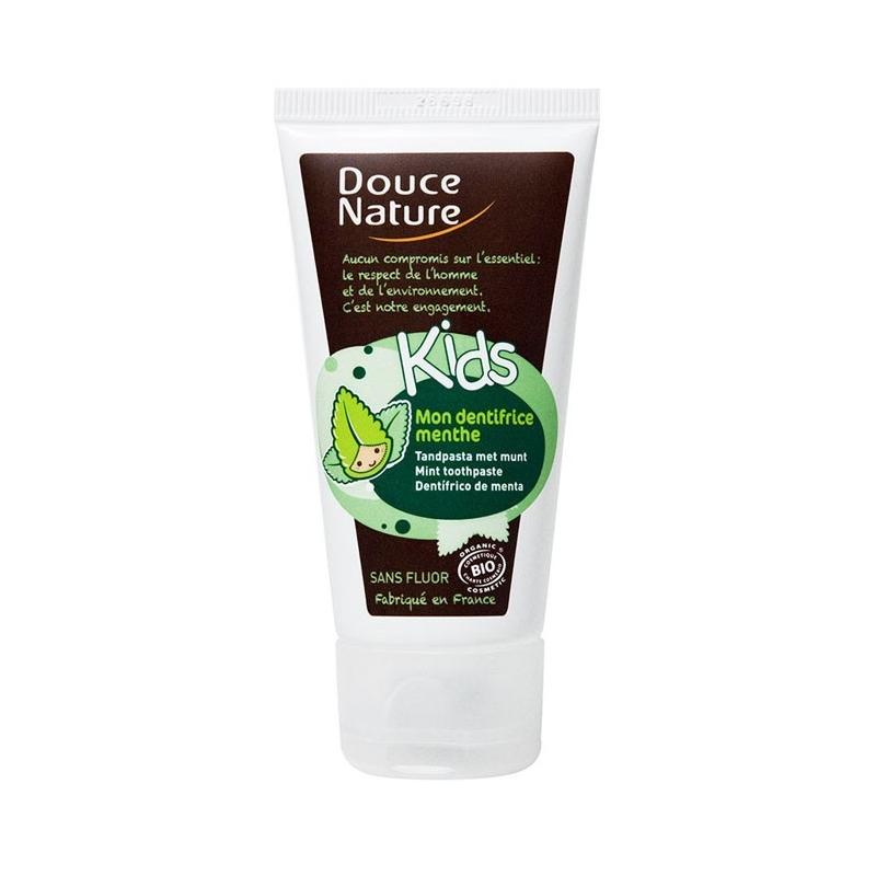 Douce Nature Kids : Mon dentifrice Menthe BIO - 50 ml