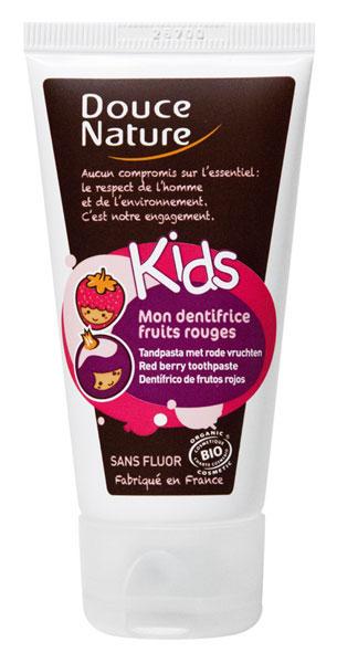 Douce Nature Kids : Mon dentifrice Fruits rouges BIO - 50 ml