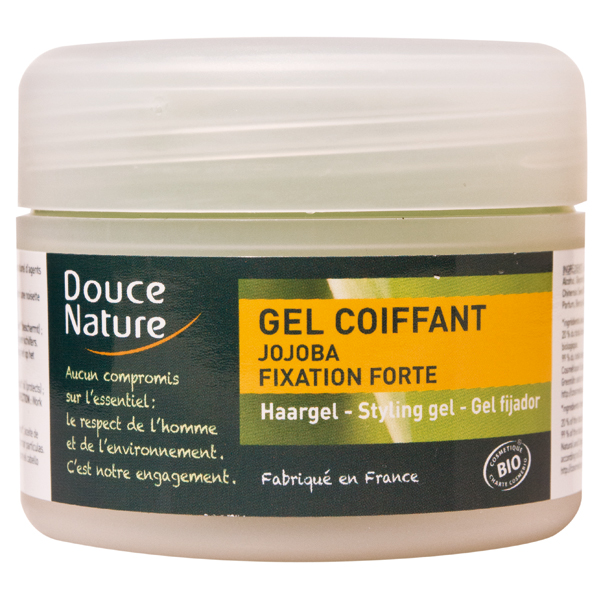 Douce Nature Gel coiffant BIO - pot de 100 ml