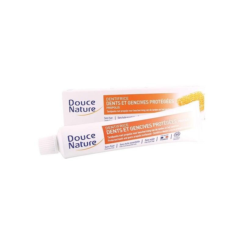 Douce Nature Dentifrice dents et gencives protégées Propolis BIO - tube 75 ml