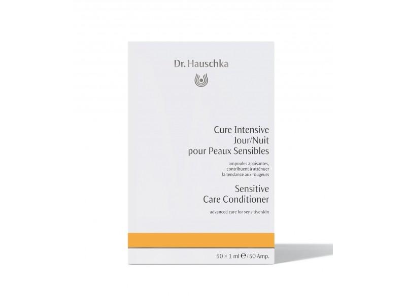 DR. HAUSCHKA Cure intensive jour/nuit peaux sensibles - 50 ampoules