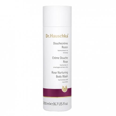 DR. HAUSCHKA Crème douche à la rose - 200 ml