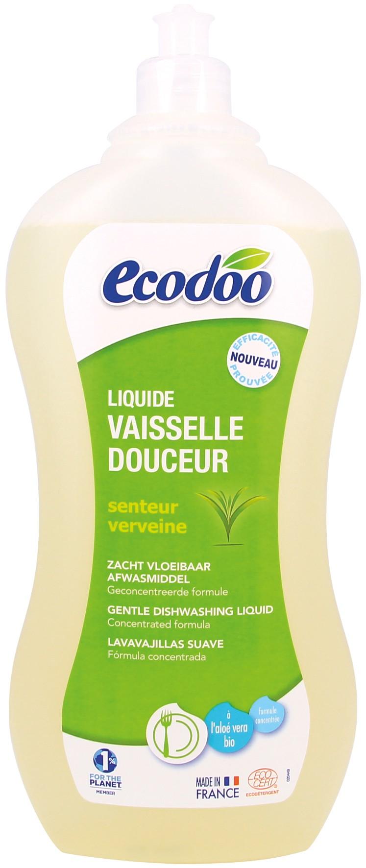 ECODOO Liquide vaisselle écologique douceur - 1 litre