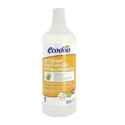 ECODOO Nettoyant multi-usages hypoallergénique - 1 litre