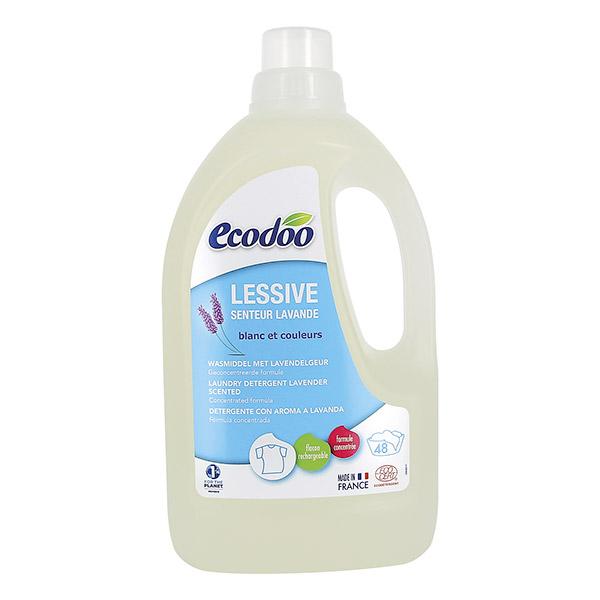 ECODOO Lessive Liquide lavande - 1,5 litre