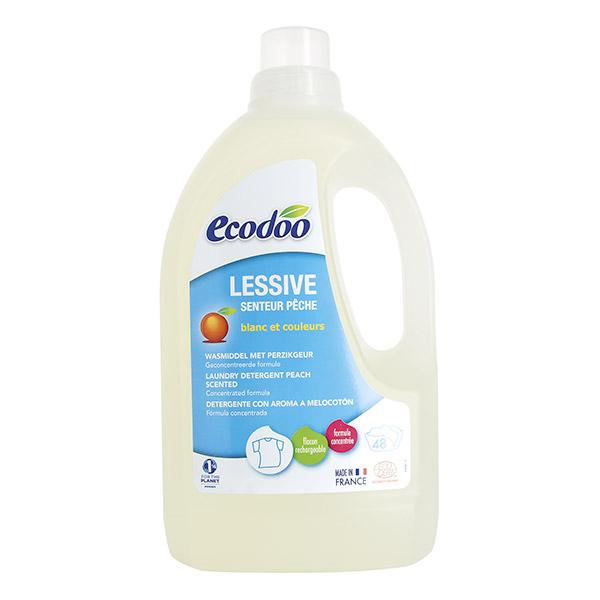 Ecodoo Lessive liquide Pêche 1.5 L