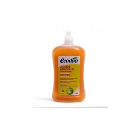 ECODOO Liquide vaisselle écologique dégraissant - 500 ml