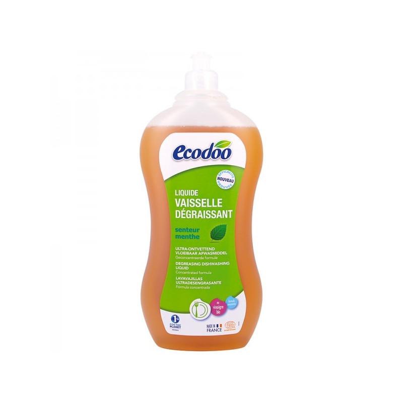 ECODOO Liquide vaisselle écologique dégraissant - 1 litre