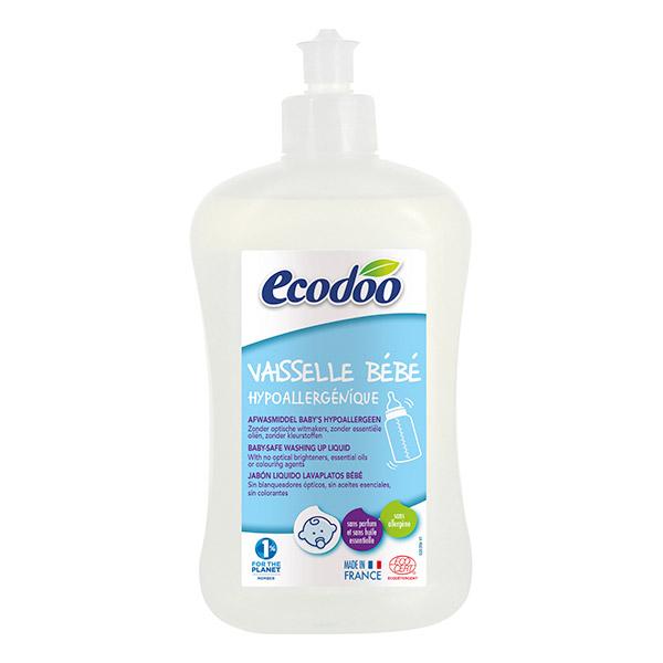 Ecodoo Liquide Vaisselle Bébé Hypoallergénique 500 ml
