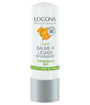 LOGONA Baume à lèvres nourrissant Calendula BIO stick 4,5 g