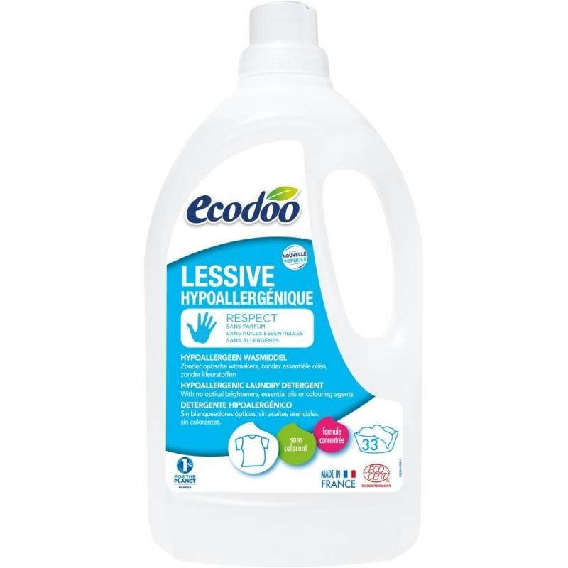 ECODOO Lessive hypoallergénique - 1,5 litres