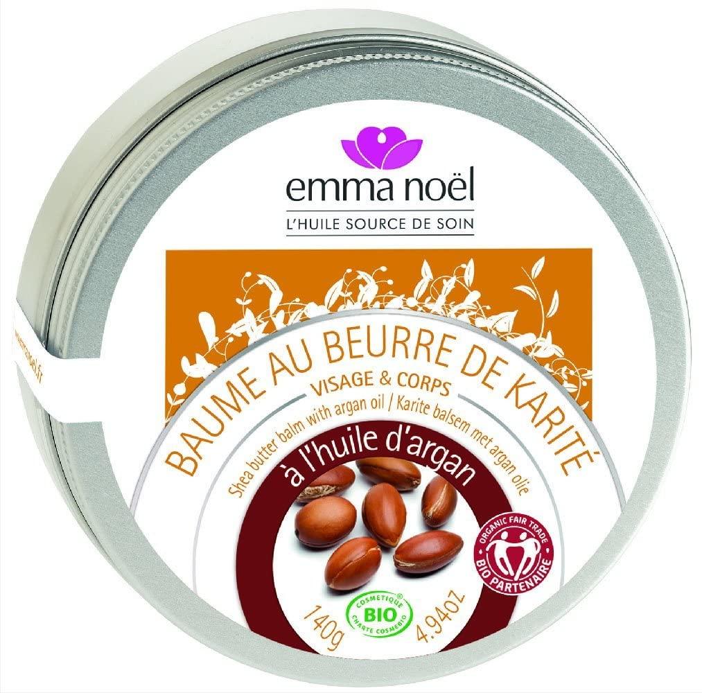 Emma Noel Baume karité et huile d\'argan Bio 140 g