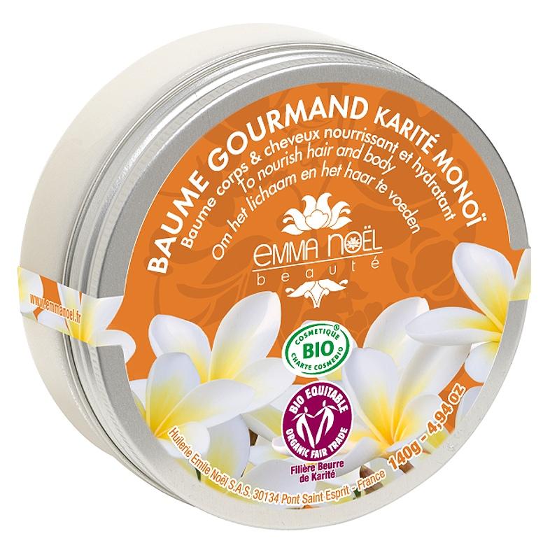 Emma Noel Baume Gourmand Karité Monoï Bio - 140 g