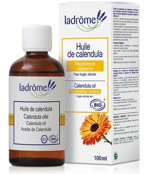 Ladrome Huile de macération Calendula BIO - 100 ml