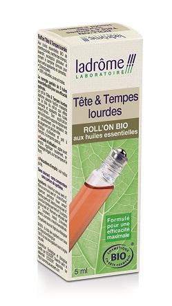 Ladrome Roll on tête et tempes lourdes BIO - 5 ml