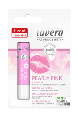 Lavera Baume à lèvres Pearly pink - 4,5 g