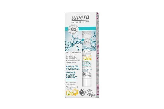 Lavera Basis, Contour des yeux anti-rides à la coenzyme Q10 - 15 ml
