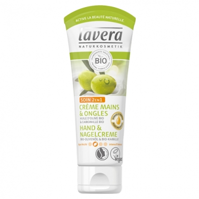 Lavera Crème mains & ongles soin 2 en 1 - 75 ml