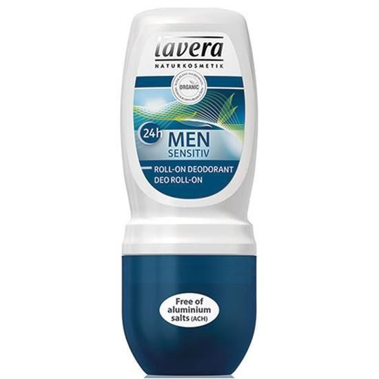 Lavera Men Sensitiv, Déodorant roll-on 24h BIO - 50 ml