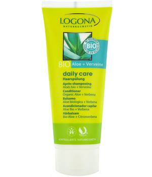 LOGONA Après-shampoing Daily Care Aloés et Verveine 100 ml