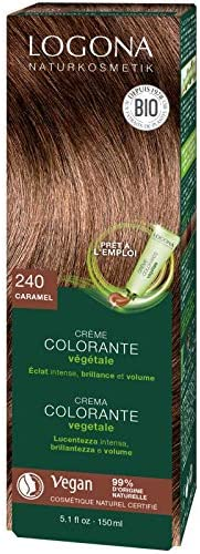 LOGONA Crème colorante végétale caramel - 150 ml
