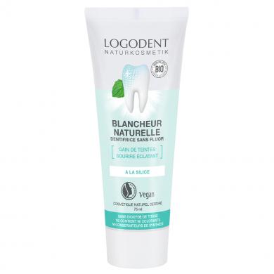 Logona Pâte dentifrice blancheur naturelle 75 ml